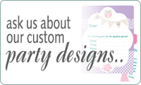 Enquire about party accessories