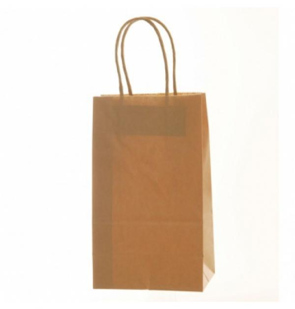 Kraft (Natural ) Brown Gift Bags (10)