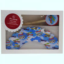 Alec the Aviator Cupcake Decorating Kit (24pc)